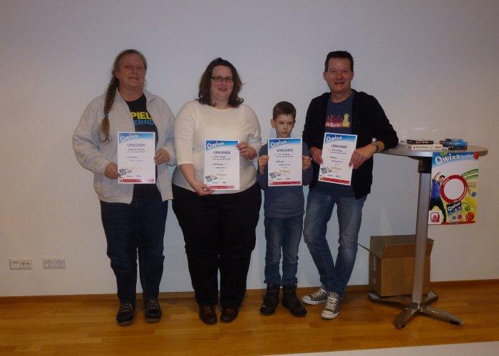 Qwixx Turnier Gewinner