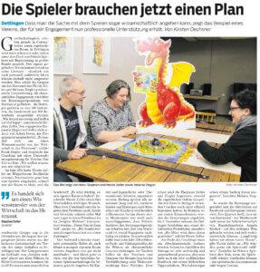 Bild vom Zeitungsartikel