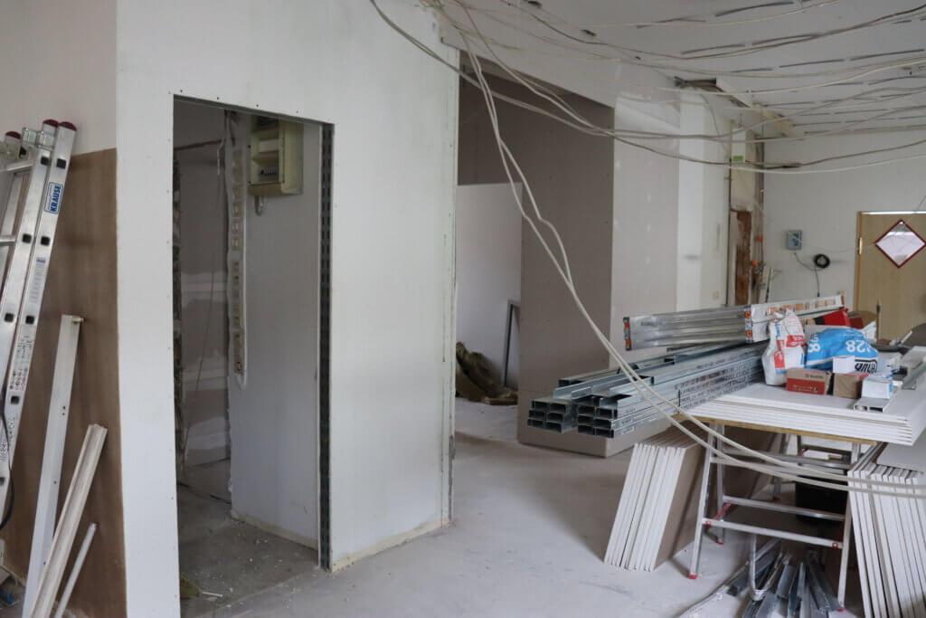 Eingang Toilettenbereich